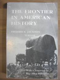 frederick jackson turners thesis said what about the frontier Frontier thesis thesis coined by frederick jackson turner in 1889 as the railroads were  supreme court said no because it wasn't interstate commerce which they.